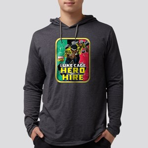 Classic Luke Cage Wall Break Mens Hooded Shirt