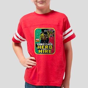 Classic Luke Cage Wall Break Youth Football Shirt