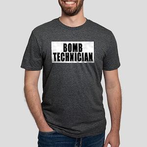 bomb tech front Mens Tri-blend T-Shirt