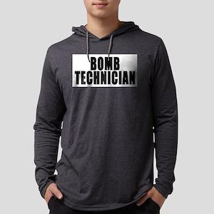 bomb tech front Mens Hooded Shirt