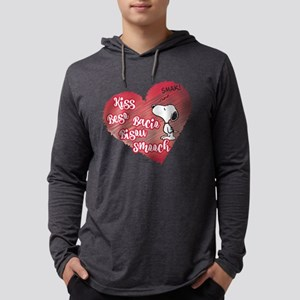 Snoopy - Smooch Mens Hooded Shirt