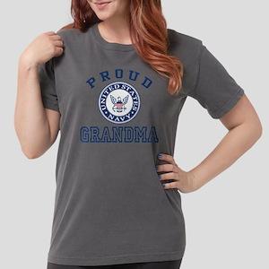 Proud US Navy Grandma Womens Comfort Colors Shirt