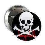 Boogerballs Skull Button