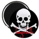 Boogerballs Skull Magnet