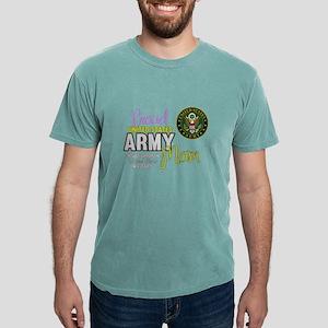 Proud Army Mom Seal Mens Comfort Colors Shirt