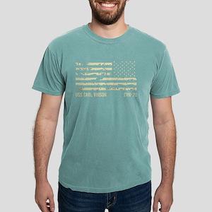 USS Carl Vinson Mens Comfort Colors Shirt