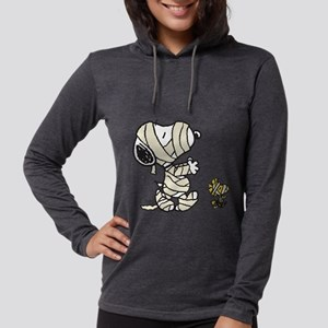 Snoopy and Woodstock - Mummies Womens Hooded Shirt