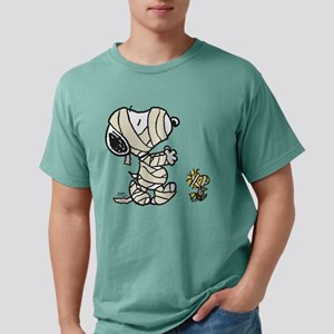 Snoopy and Woodstock - M Mens Comfort Colors Shirt