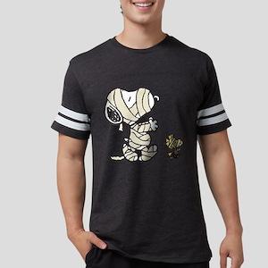 Snoopy and Woodstock - Mummies Mens Football Shirt