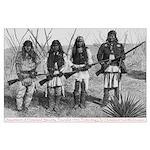 Native Homeland Security Large Poster