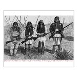 Native Homeland Security Small Poster