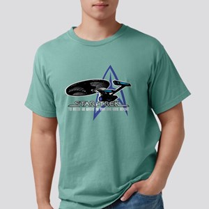 Star-Trek-To-Boldy-Go-bl Mens Comfort Colors Shirt