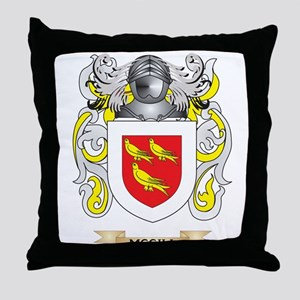 McGill Coat of Arms - Family Crest Throw Pillow