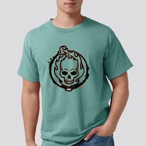 Ghost Rider Logo Mens Comfort Colors Shirt