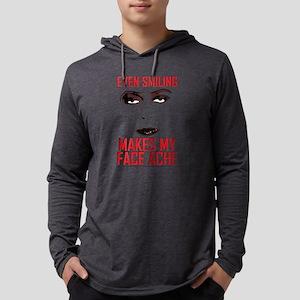 Rocky Horror Face Ache Light Mens Hooded Shirt