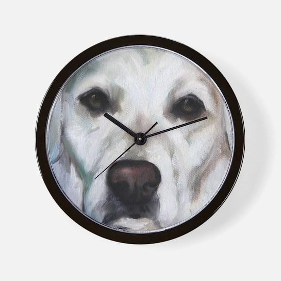 Old Yella Wall Clock