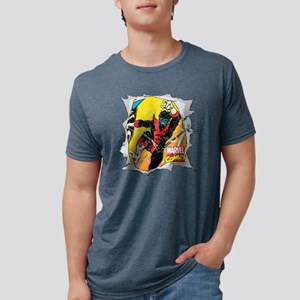 Nightcrawler X-Men Mens Tri-blend T-Shirt