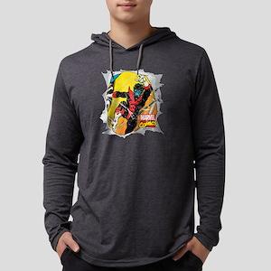 Nightcrawler X-Men Mens Hooded Shirt