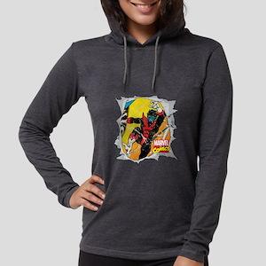 Nightcrawler X-Men Womens Hooded Shirt