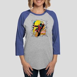 Nightcrawler X-Men Womens Baseball Tee