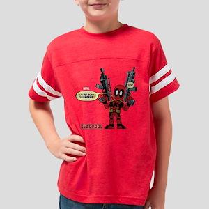 Deadpool Gonna Die Youth Football Shirt
