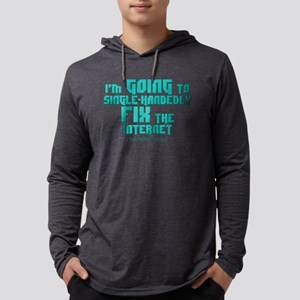 The Newsroom: Fix The Internet Mens Hooded Shirt