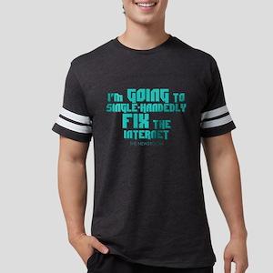 The Newsroom: Fix The Internet Mens Football Shirt