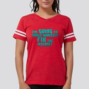 The Newsroom: Fix The Intern Womens Football Shirt