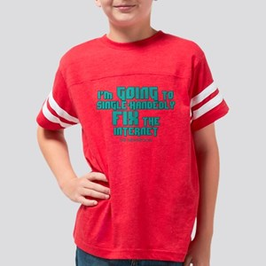 The Newsroom: Fix The Interne Youth Football Shirt