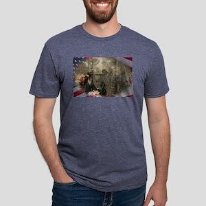 Vietnam Veterans Memorial Mens Tri-blend T-Shirt