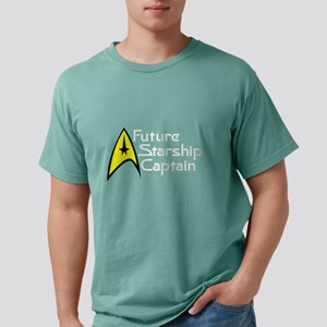 future_captain_dark Mens Comfort Colors Shirt