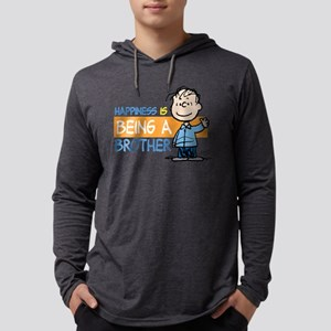 HappinessIsBrother Mens Hooded Shirt