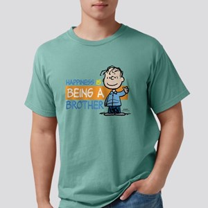 HappinessIsBrother Mens Comfort Colors Shirt