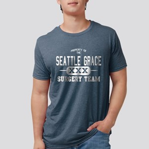 Property of Seattle Grace D Mens Tri-blend T-Shirt