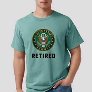 Army Retired Mens Comfort Colors Shirt