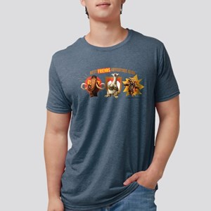 Ice Age Best Friends Light Mens Tri-blend T-Shirt