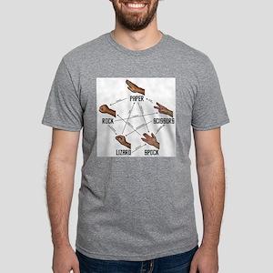 LizardSpock Mens Tri-blend T-Shirt