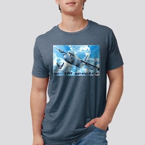 Air Force AC-130 Spectre Mens Tri-blend T-Shirt