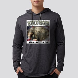 Vietnam Veterans Memorial Mens Hooded Shirt