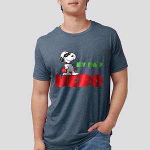 Dad Hero Mens Tri-blend T-Shirt