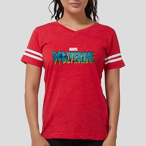 WolverineLogo light Womens Football Shirt