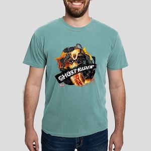 Ghost Rider Flames Mens Comfort Colors Shirt
