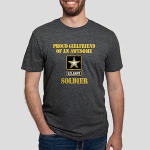 armyawesomegirlfriend2 Mens Tri-blend T-Shirt