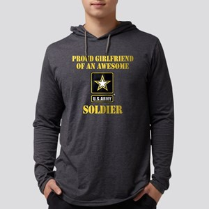 armyawesomegirlfriend2 Mens Hooded Shirt