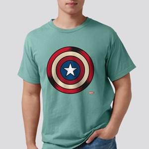 Captain America Comic Sh Mens Comfort Colors Shirt