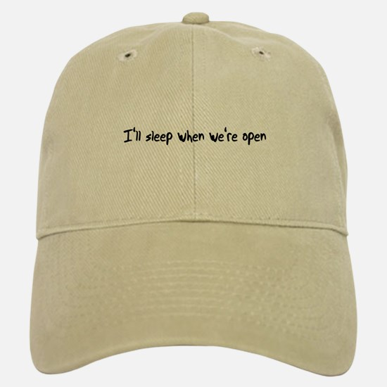 I'll Sleep Baseball Baseball Cap