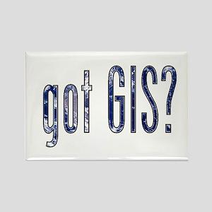 It's a Big World/Got GIS? Rectangle Magnet