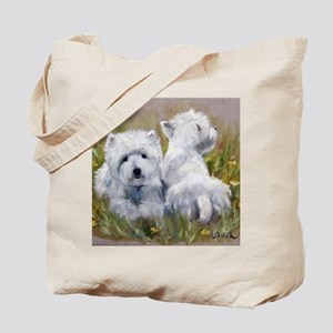 On The Lawn Tote Bag