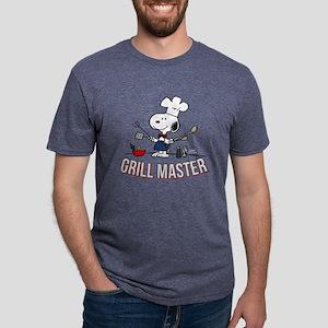 Snoopy - Grill Master Mens Tri-blend T-Shirt