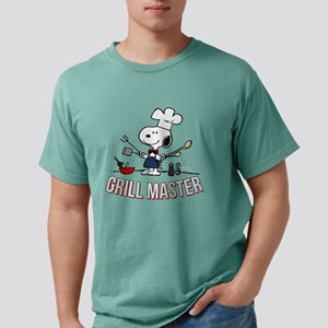 Snoopy - Grill Master Mens Comfort Colors Shirt